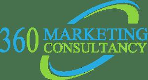 360 Marketing Consultancy Logo on White Background