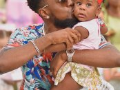 Patoranking and Wilmer (His Child)