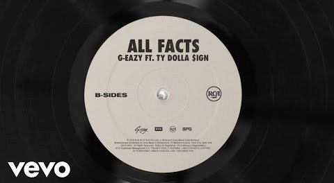 Download G Eazy ft Ty Dolla Sign All Facts mp3 download
