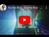 Download Burna Boy Omo Video mp4 download