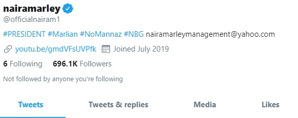 Twitter Verifies Naira Marley's Account 19hours After He Threatens Them