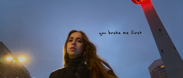 Download Tate McRae you broke me first MP3 Download