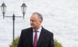 Igor Dodon: Îl felicit din tot sufletul pe Vladimir Vladimirovici Putin cu victoria fermă în alegerile prezidenţiale