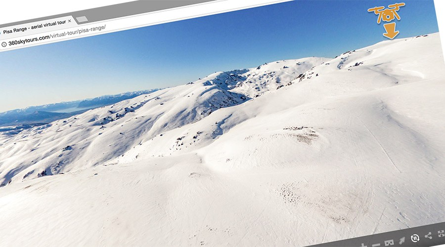 aerial virtual tour of pisa range