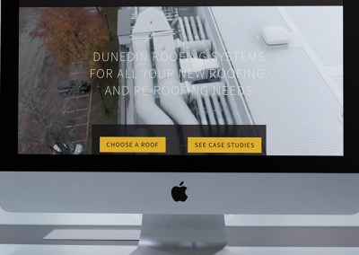 Dunedin Roofing Systems Web Design