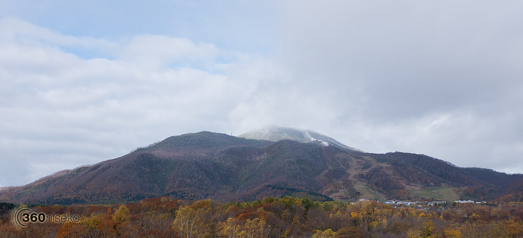Mt.Annupuri and Hirafu panorama, 28 October 2013