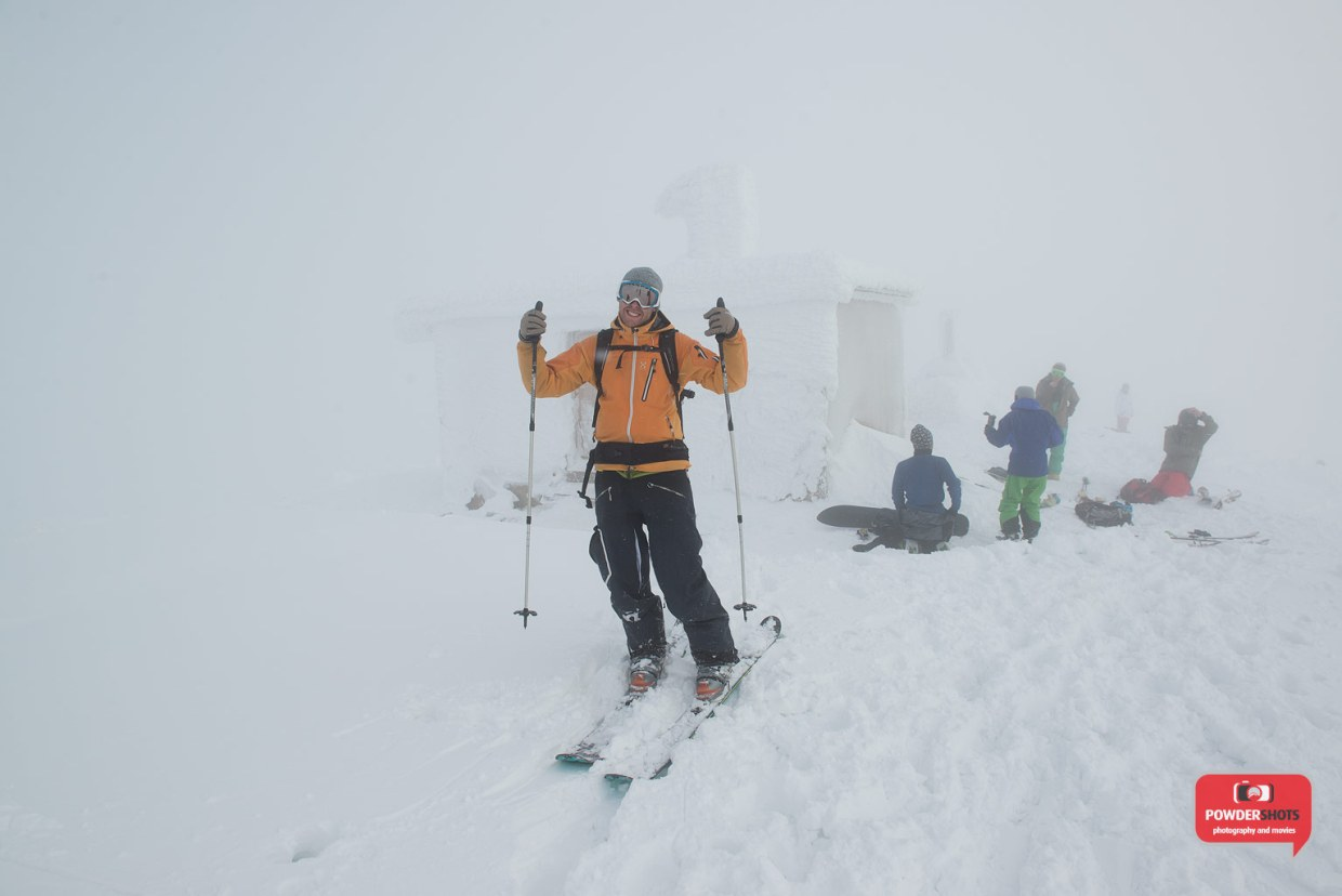 "Thumbs up on the ""Peak"", 26 December 2013"
