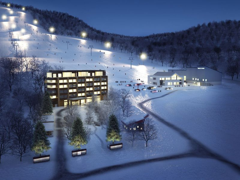 External renderings of the new Ki Niseko being managed by HTM