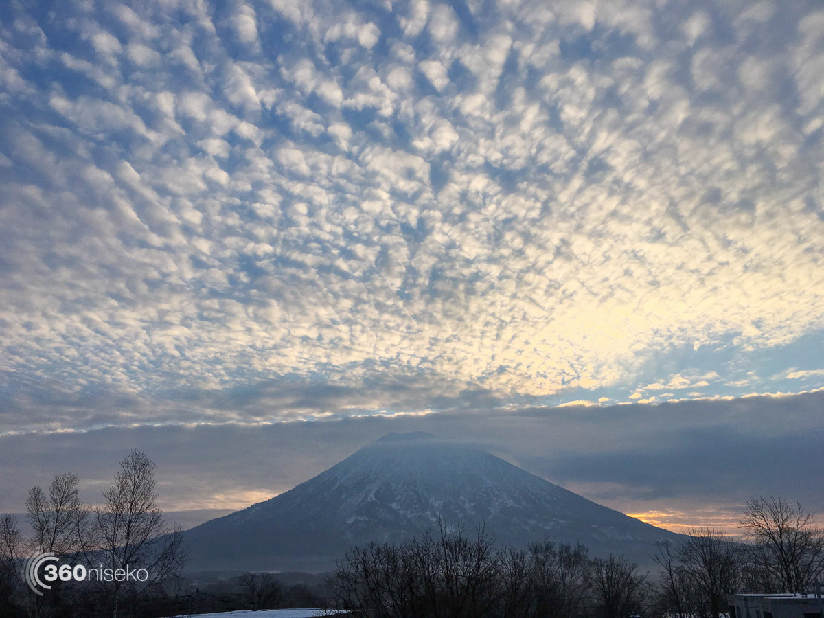 Sunrise of Mt.Yotei, 24 December 2015