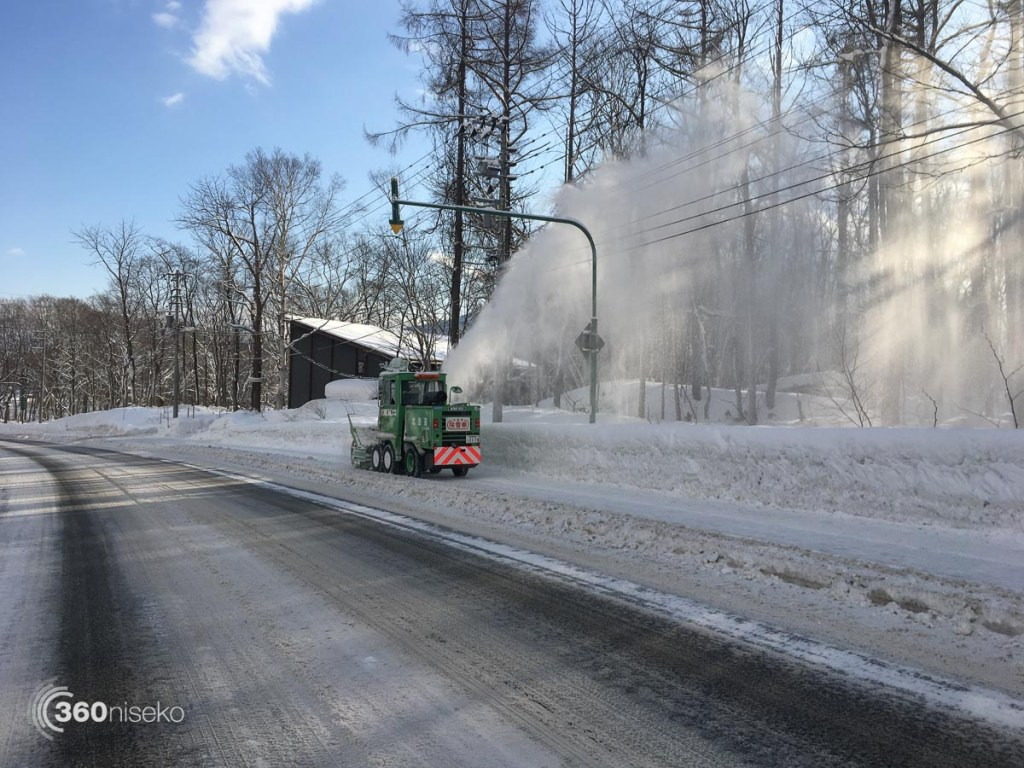 Keeping the footpath clear, 5 January 2017