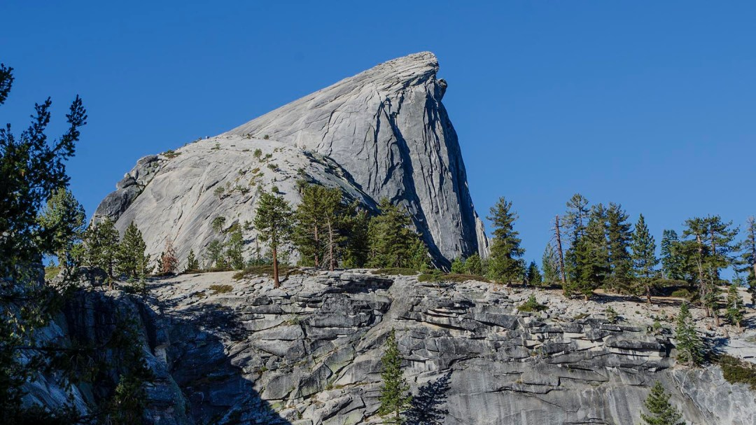 Half Domes East face. Sub dome is dome just below Half Dome.