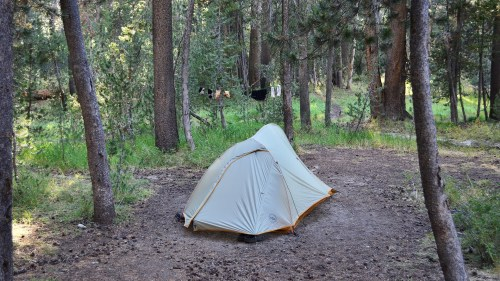 Backpacker campground in Tuolumne Meadows