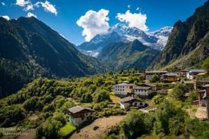 Upper Yubeng Village beneath Bawu Bameng Peak 5,000 m (16,404′) (Yubeng Village — Complete Guide)