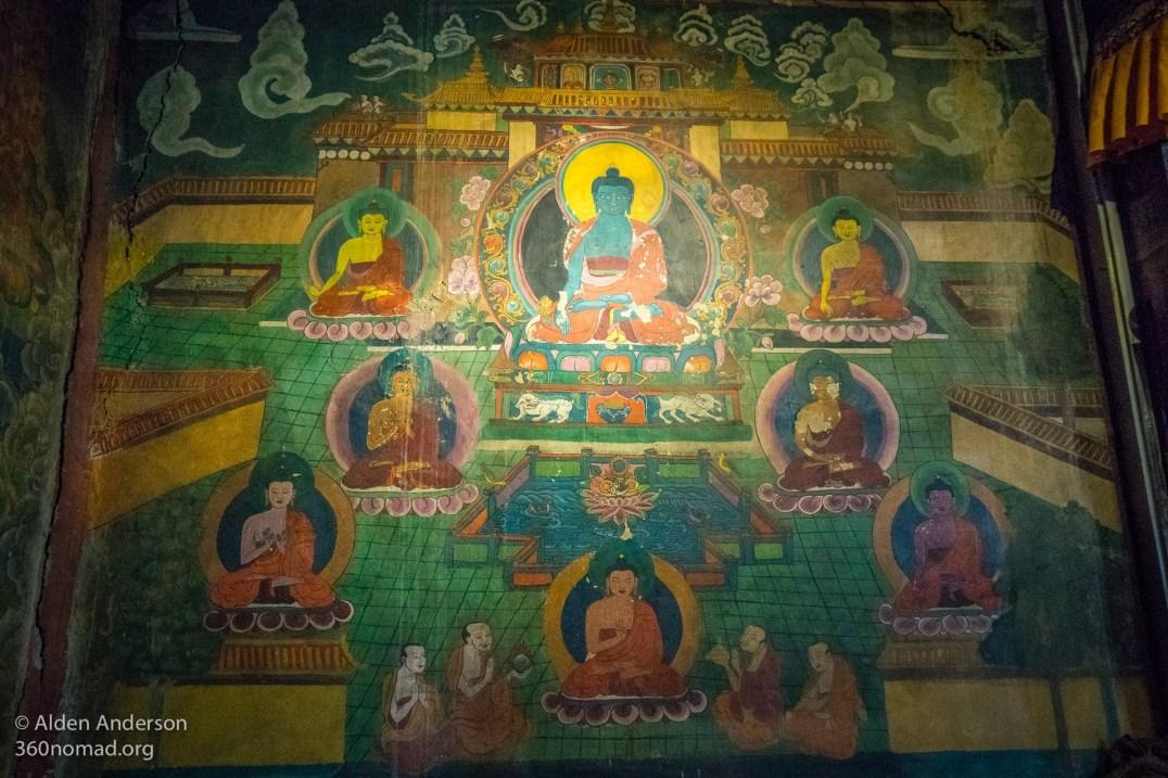Feilai Monastery Tibetan Mural 01