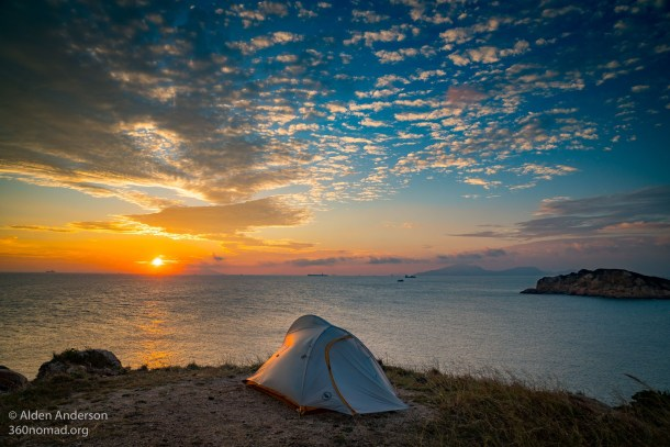Sunset on Po Toi Island