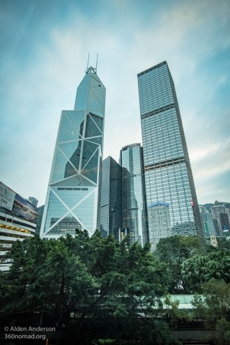 Bank of China Tower (Left)
