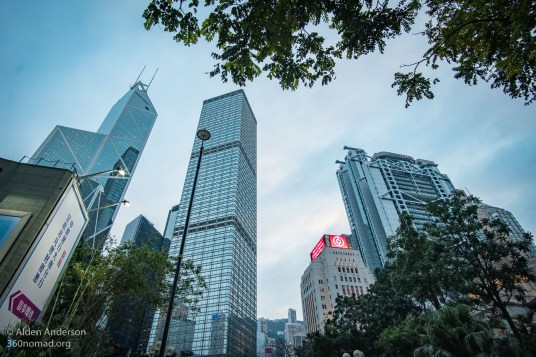 Bank of China Tower (Left) and HSBC Building (Right)