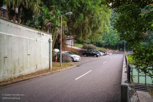 Turn right at Barker Road