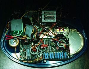 Inside the emeter - main assembly