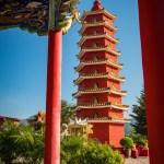 Pagoda - Ten Thousand Buddhas Monastery