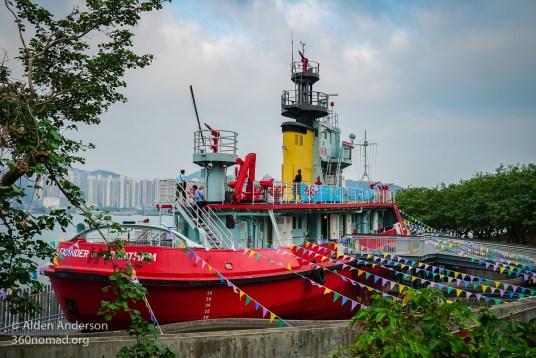 Alexander Grantham Fireboat
