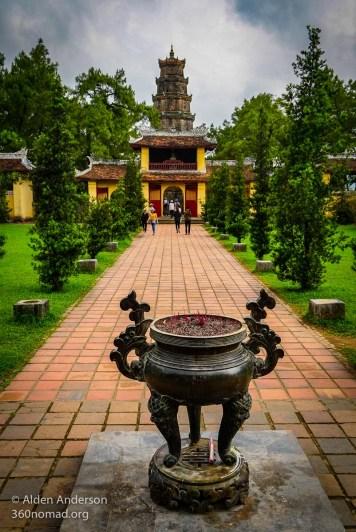 Thien Mu Pagoda temple Hue