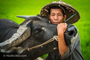 Hung Van and his Buffalo