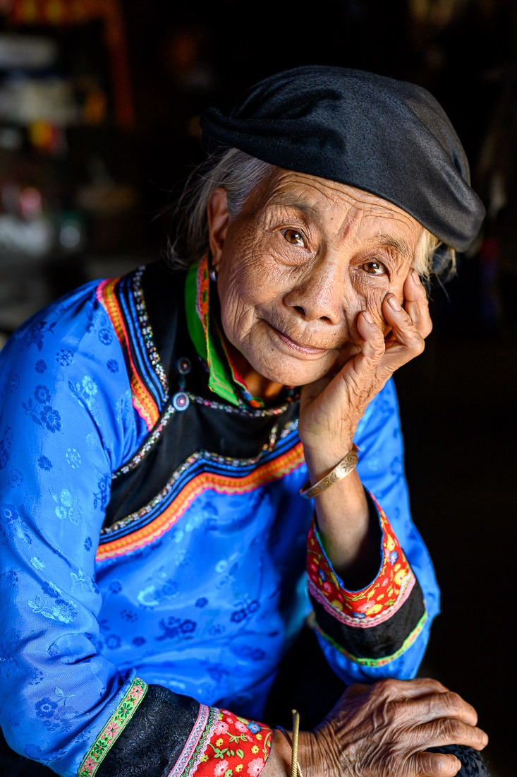 Lien, Xa Phang Hoa Ethnic Group, Vietnam