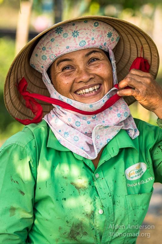 Phuong, Farmer, Hoi An, Vietnam