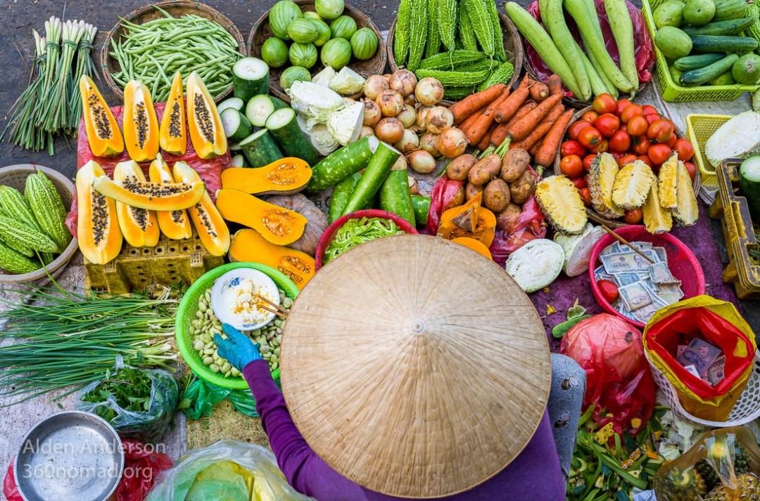 Vong, Colors of the Market, Hoi An, Vietnam