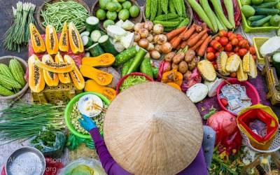 Colors of the Market — Hoi An, Vietnam
