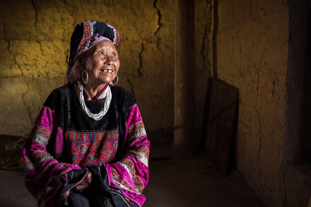 Lolo Den Ethnic Group Ha Giang Vietnam