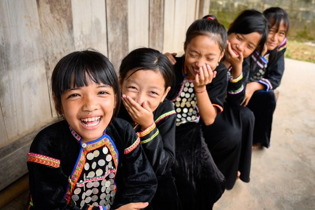 Si La ethnic groups kids Vietnam
