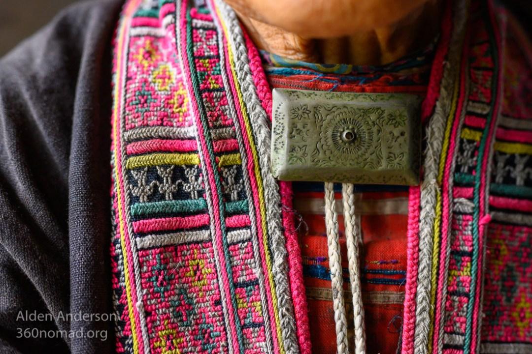 Dao embroidery close up Alden Anderson_