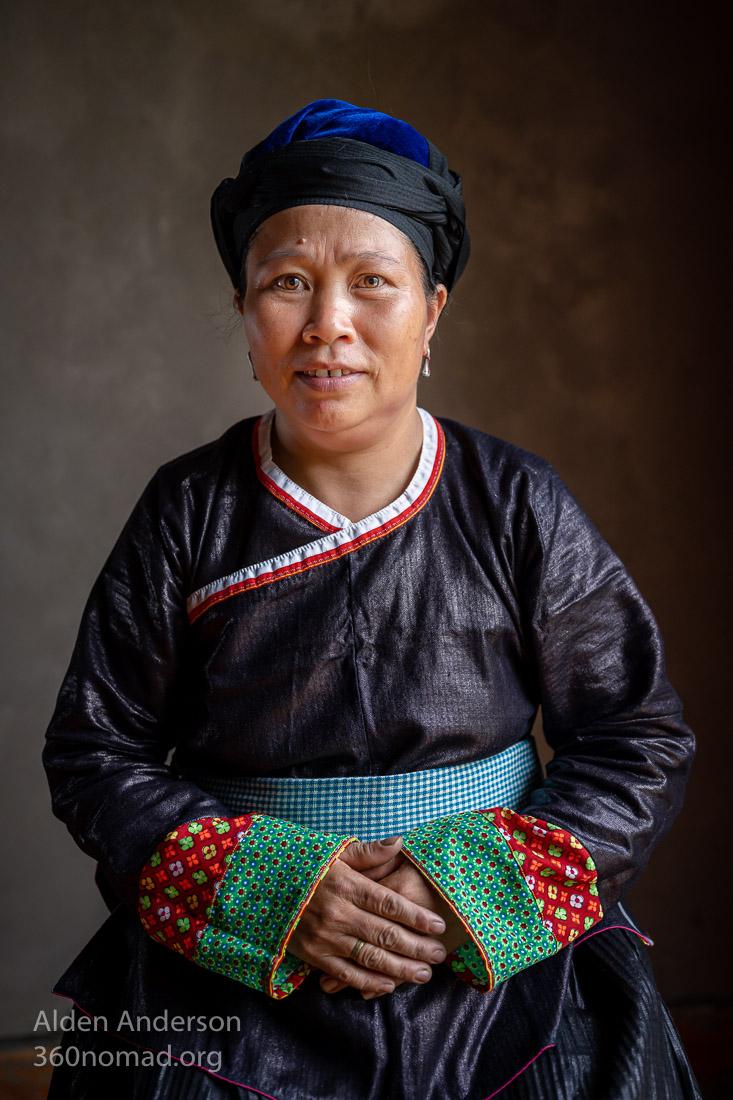 Vietnam Hill Tribes woman