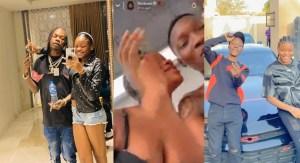 Zinoleesky Caught Kissing Naira Marley's Sister (See Video), Zinoleesky Caught Kissing Naira Marley's Sister (See Video), 360okay