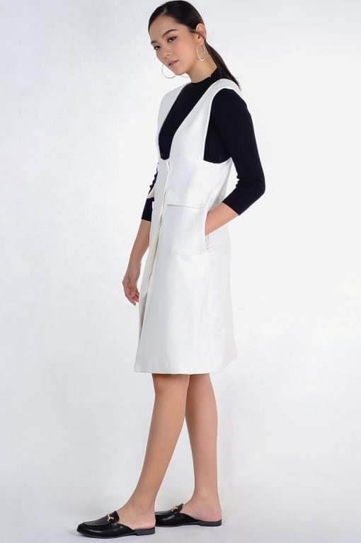 Veronica Dress White