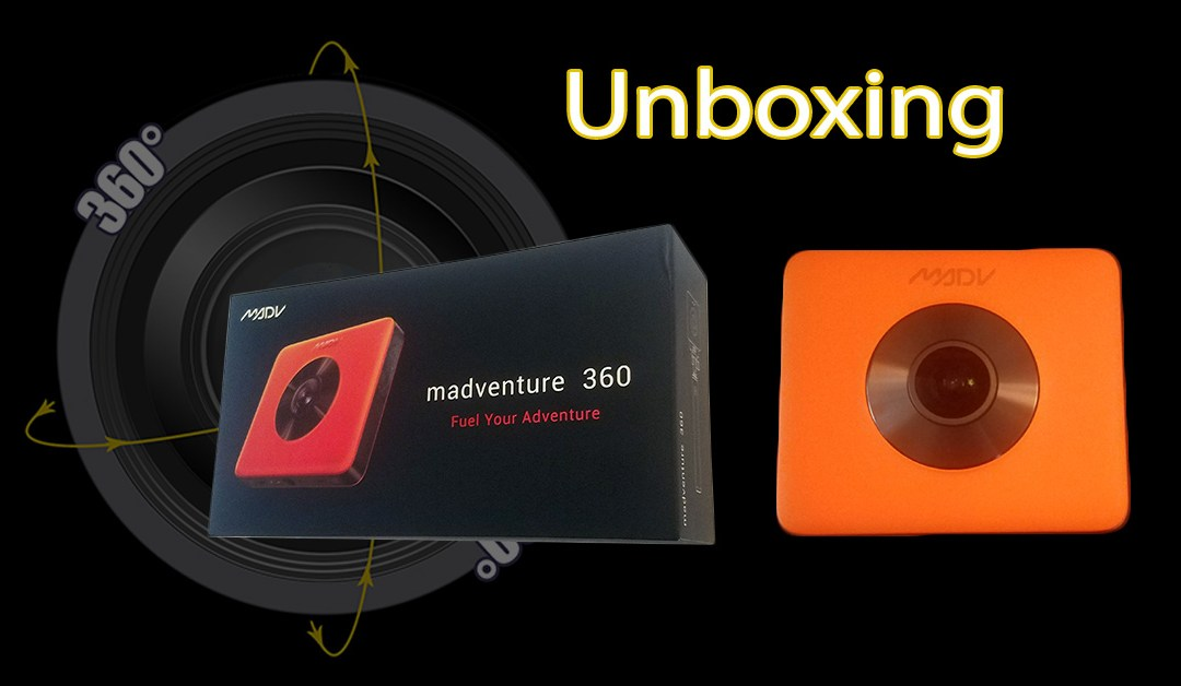 Unboxing the Madventure 360 Camera in 360!