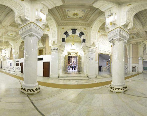جولة افتراضية بانوراما ٣٦٠ درجة في المسجد الحرام