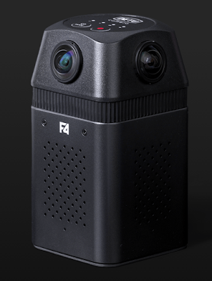 Sample video from Detu F4, a 360 camera with 6k video resolution