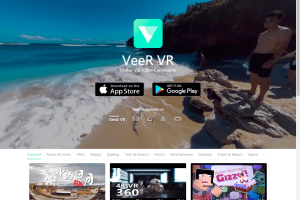 sharing site that supports 3D 360 videos