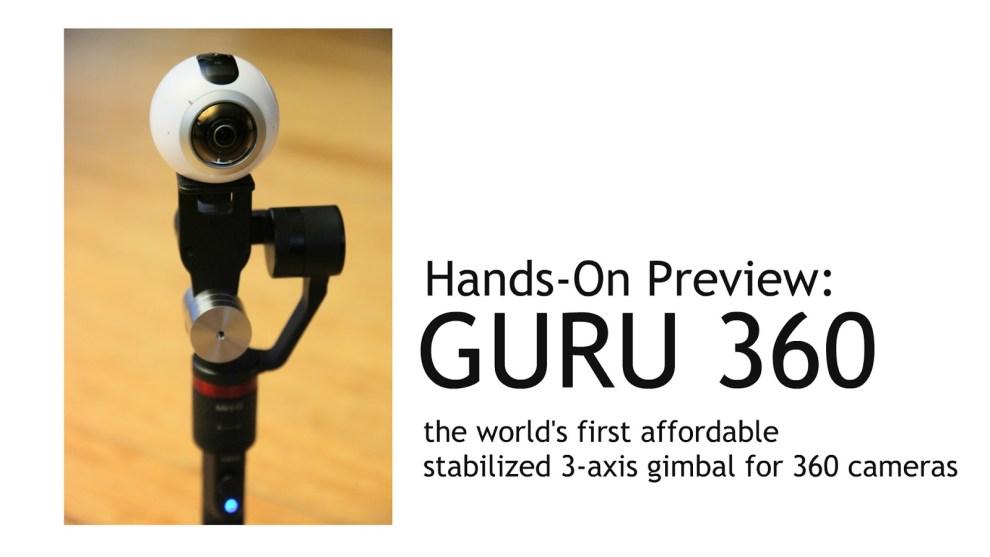 Hands-on preview: Guru 360