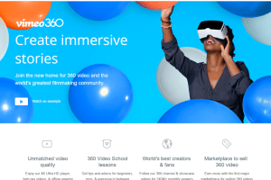 Vimeo adds support for 360 videos in 2D and in 3D!
