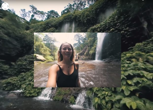 360 video of an exotic jungle paradise shows why 360 cameras are perfect for travel
