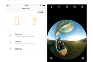 2017 Samsung Gear 360 app for iOS and Android now live