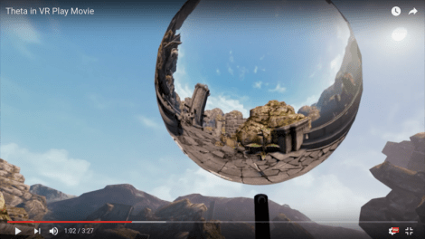 take 360 photos within a VR game with a virtual Ricoh Theta