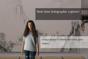 Holocap: affordable realtime holographic capture for VR and AR