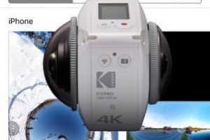 Kodak Orbit360 app for Android and iOS