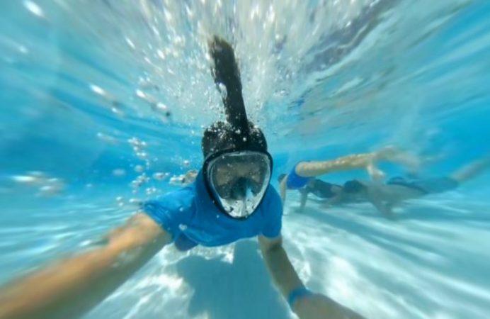 Xiaomi Mijia Mi Sphere underwater 360 video