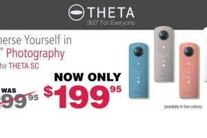 Ricoh Theta SC price drop